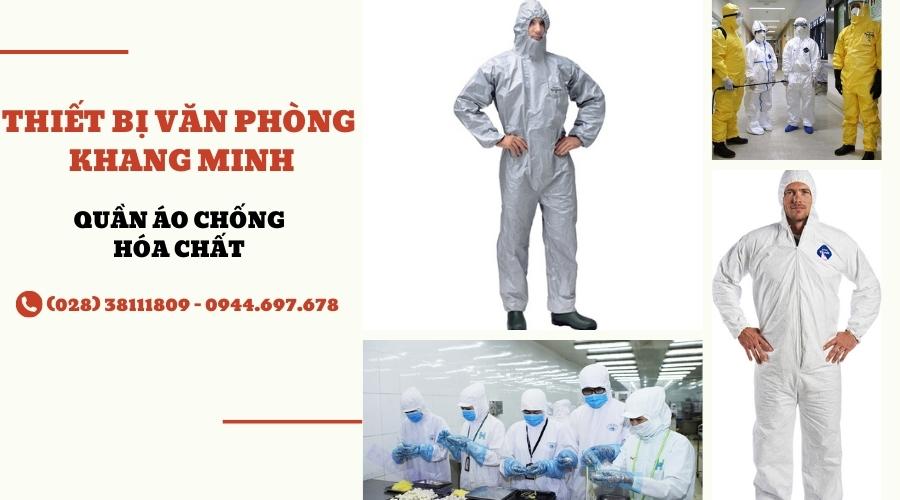 quần áo bảo hộ chống hóa chất 3m